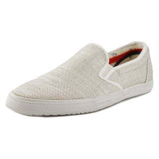 Ben Sherman Buster Round Toe Canvas Loafer