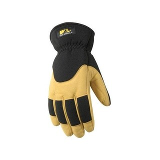 Wells Lamont 7092L Insulated Winter Synthetic Leather Glove, Large