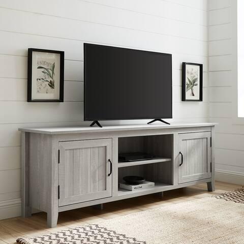 The Gray Barn Wind Gap 70-inch Beadboard Door TV Console