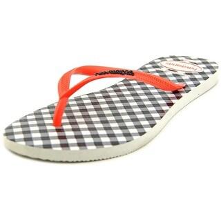 Havaianas Spasa Open Toe Synthetic Flip Flop Sandal