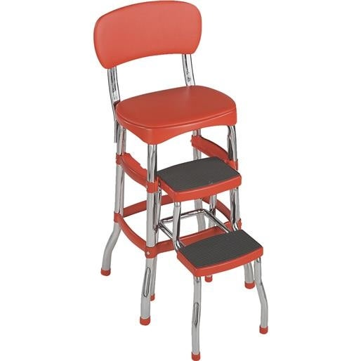 Shop Cosco Home Amp Office Retro Chair Step Stool 11 120