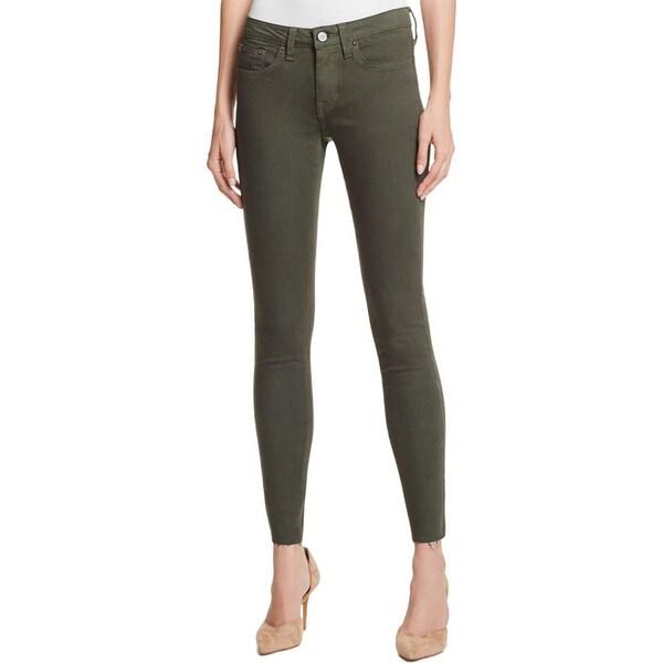 Shop Jean Shop Womens Heidi Skinny Jeans Denim Raw Hem Free