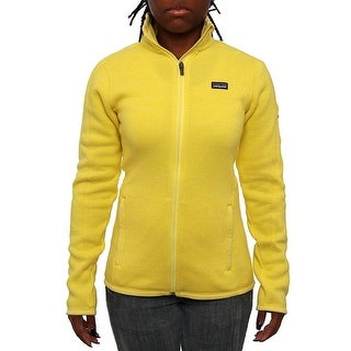 Patagonia Women Women's Better Sweater Jacket Fleece Pineapple