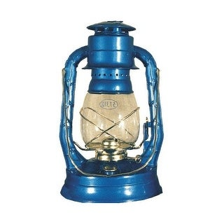 "21st Century L90609 Hurricane Lanterns, Blue, 13-1/2"""
