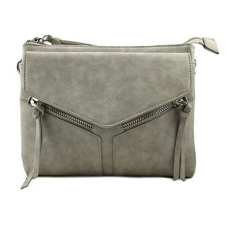 Violet Ray Leanna Women Synthetic Messenger - Gray