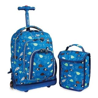 JWorld New York Children's Lollipop Rolling Backpack & Lunch Bag Seaworld - US Children's One Size (Length One Size)