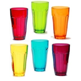 Palais Glassware Overture Set of 6 Juice Glasses (12 Oz. Set of 6)