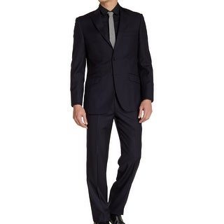 ENGLISH LAUNDRY NEW Blue Mens Size 36 Short Two Button Wool Suit Set
