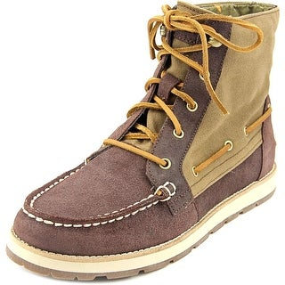 Sperry Top Sider Peak Blvd Women Round Toe Leather Boot