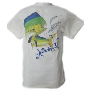 Hook'd Up Mens Dorado with Ballyhoo Short Sleeve Shirt