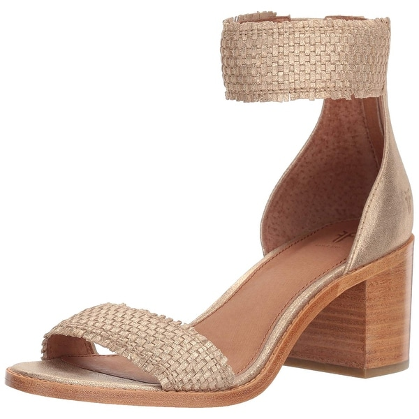 9b6daa64deb3 Shop Frye Womens Bianca Woven Leather Open Toe Casual Espadrille ...
