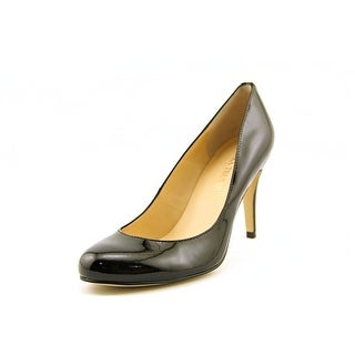 Ivanka Trump Amoro Women Round Toe Patent Leather Heels