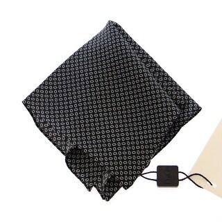 Dolce & Gabbana Dolce & Gabbana Black Silk Handkerchief - One size