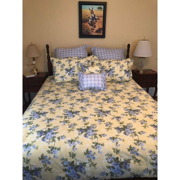 Shop Laura Ashley Cassidy Comforter Set On Sale Free Shipping