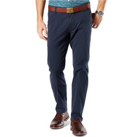 Dockers Mens Big & Tall Alpha Slim-Tapered Fit Twill Pants 48 x 32