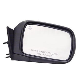 Pilot Automotive TYC 4400131 Black Passenger/ Driver Side Power Heated Replacement Mirror for Chrysler Town & Country