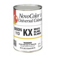 NovoColor II 076.008800N.005 Universal Colorant, KX-White, 1 Quarts