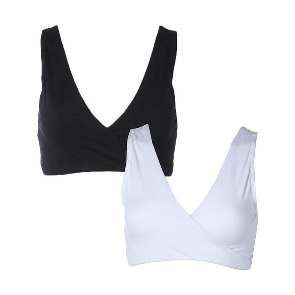 c6d8764d3a3e6 Shop Lamaze Womens Maternity Intimate Sleep Bra Stretch Nursing - Free  Shipping On Orders Over  45 - Overstock.com - 14311832