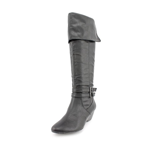 Alfani Carrie Women Round Toe Synthetic Over the Knee Boot