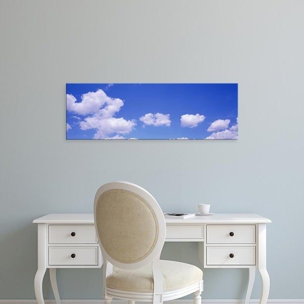 Easy Art Prints Panoramic Images's 'Clouds Marion Co Southern IL USA' Premium Canvas Art