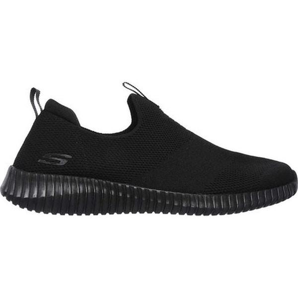 Elite Flex Wasick Slip-On Sneaker Black