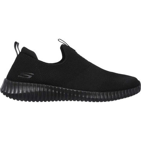 Shop Skechers Men's Elite Flex Wasick Slip On Sneaker Black