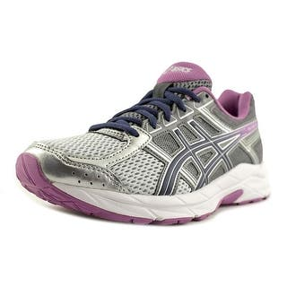Asics Gel-Contend 4 Women D Round Toe Synthetic Silver Running Shoe|https://ak1.ostkcdn.com/images/products/is/images/direct/463eda0aeb2f250a8ef0eff8104093dac72ab19c/Asics-Gel-Contend-4-Women-D-Round-Toe-Synthetic-Silver-Running-Shoe.jpg?impolicy=medium
