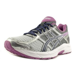 Asics Gel-Contend 4 Women D Round Toe Synthetic Silver Running Shoe