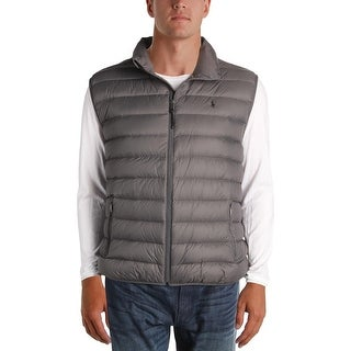 Polo Ralph Lauren Mens Big & Tall Packable Vest Puffer Lightweight