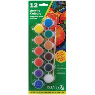Reeves Acrylic Paint Pots 59ml -Assorted Colors