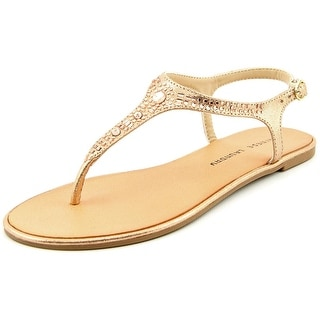 Chinese Laundry Gracious Women Open-Toe Synthetic Gold Slingback Sandal