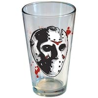 Friday the 13th Jason Voorhees Hockey Mask Pint Glass