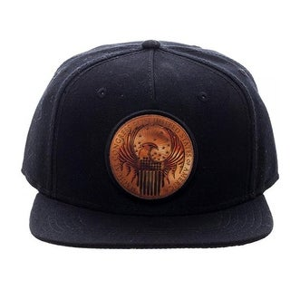 Fantastic Beasts and Where to Find Them Macusa Shield Black Snapback Hat - multi