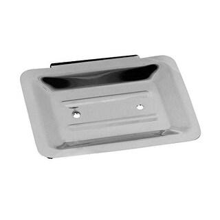Wangel Nail-free Design Aluminum and Waterproof Rectangular Soap Dish