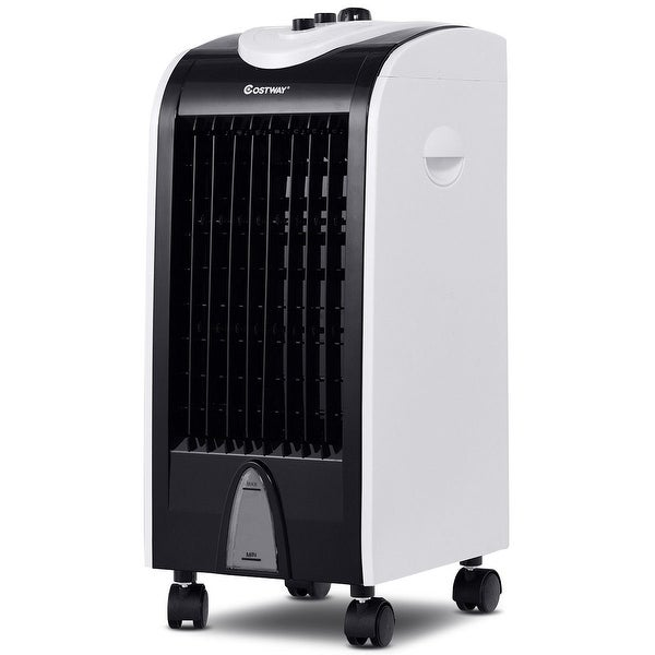 Evaporative Portable Air Cooler with Filter Knob Control