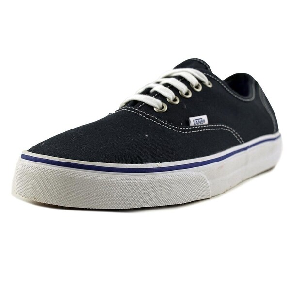 f3ee7748d6 Shop Vans Authentic Midnight Men Round Toe Canvas Blue Sneakers ...