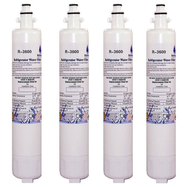 118543d54d3 Refresh RPWF Replacement for GE RPWF Refrigerator Water Filter (NOT RPWFE)  (4 Pack ...