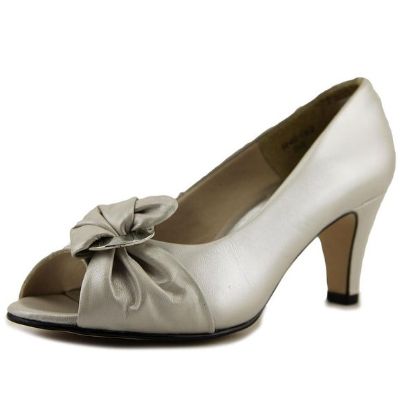 Ros Hommerson Charlize Women W Peep-Toe Synthetic Nude Heels