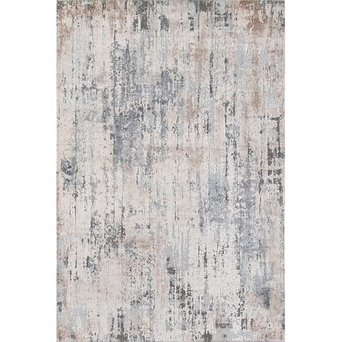 Momeni Dalston Polyester Blend Abstract Area Rug