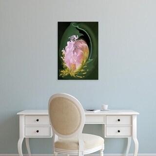 Easy Art Prints Jaynes Gallery's 'Abstract Flowers' Premium Canvas Art