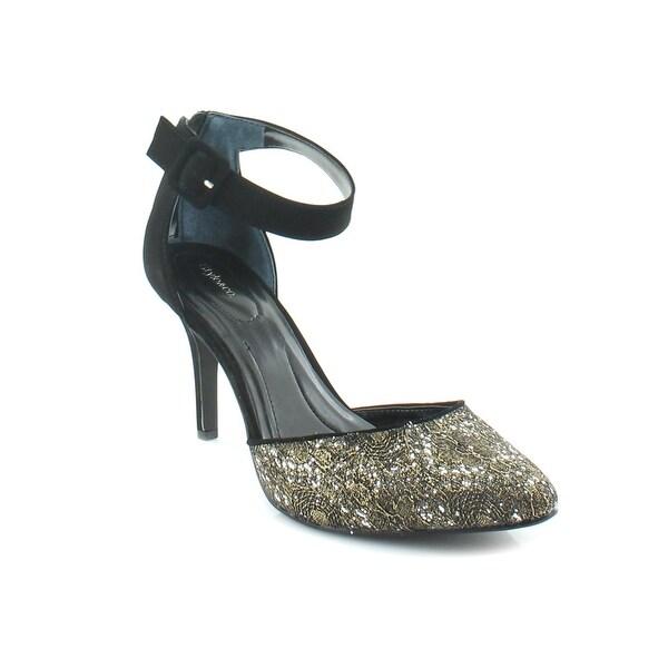 Style & Co. Galaxy2 Women's Heels Pewter/Gold/Black