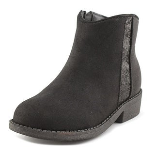 Nina Svetlana Round Toe Synthetic Bootie
