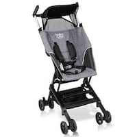 Costway Buggy Portable Pocket Compact Lightweight Stroller Easy Handling Folding Travel - gray