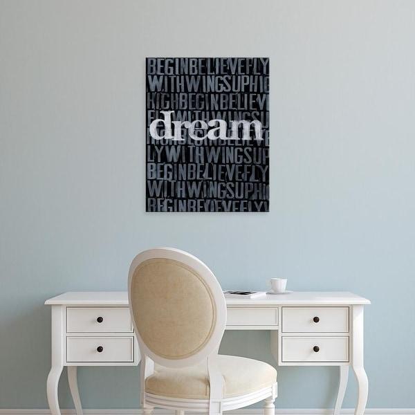 Easy Art Prints Deborah Velasquez's 'Dream, Imagine... I' Premium Canvas Art
