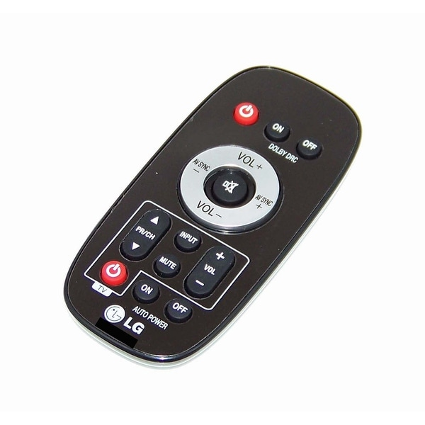 OEM LG Remote Originally Shipped With: NB2020A, NB2022A