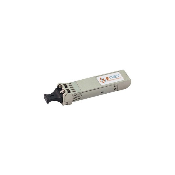 ENET SFP-10G-ZR-S-ENC ENET 10GBase-ZR SFP+ Transceiver 1550nm SMF 80KM LC Connector - For Data Networking, Optical Network 1 LC