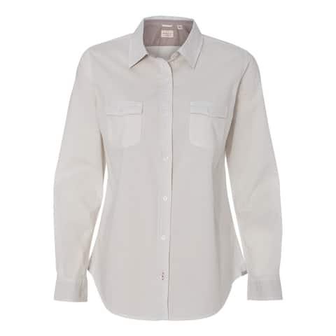 Weatherproof Women's Vintage Chambray L/S Shirt