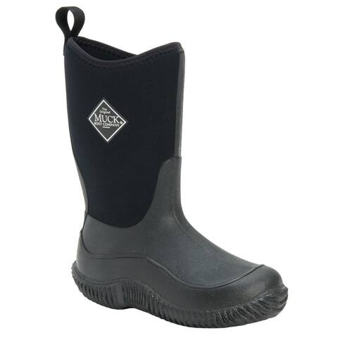 Muck Boot Muck Hale Pull On Kids Boys Boots Mid Calf - Black