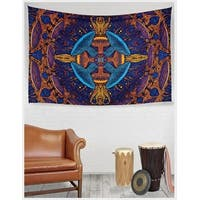 Handmade 100% Cotton 3D Magic Mushroom Tapestry Tablecloth Bedspread Beach Sheet Sun Canopy 60x90