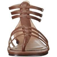 Ellie Shoes Womens 015-Rome Split Toe Casual Gladiator Sandals - 7